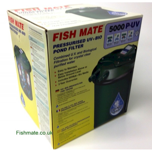 Fishmate Pressurised UV Pond Filter: 5000 PUV