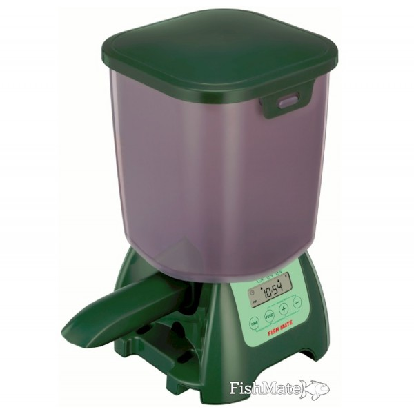 Fishmate p7000 pond fish feeder for Fish feeder for pond