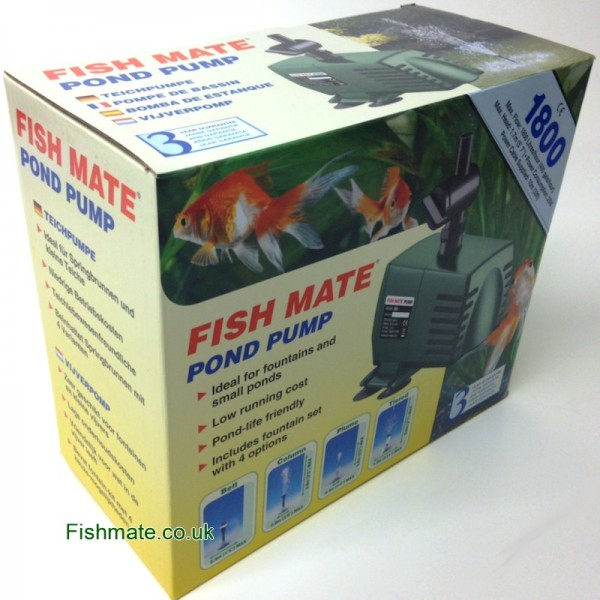 Fish Mate Pond Pump: 1800